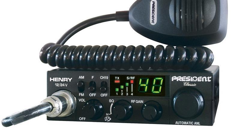 President Henry - radio CB