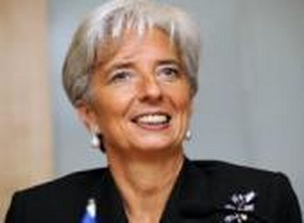 Christine Lagarde. Fot. Bloomberg