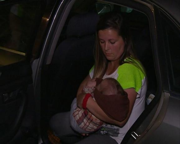 Povređena beba u Starom Grackom