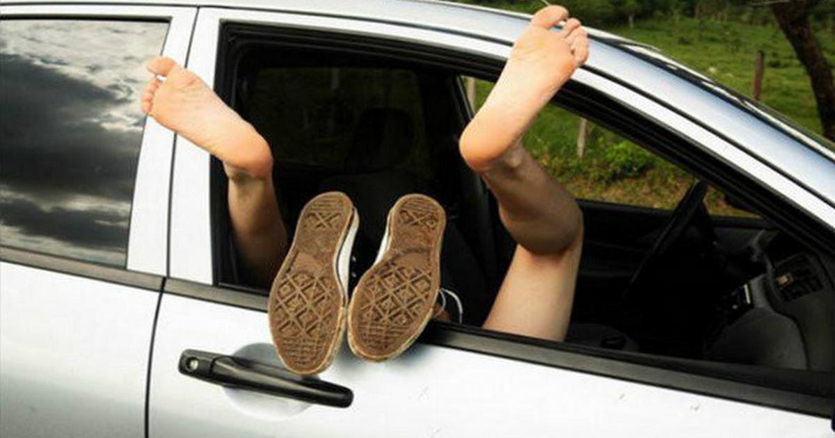 Amateur Car Blowjob Couple