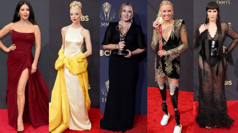 Gwiazdy na gali rozdania nagród Emmy