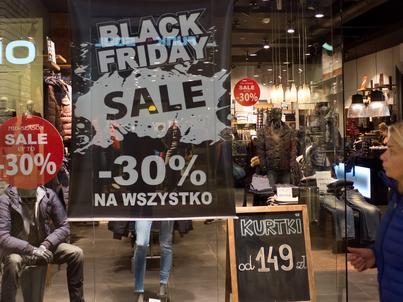 Black Friday powoli przebija się do świadomości Polaków. Szczególnie interesują ich wtedy produkty niespożywcze