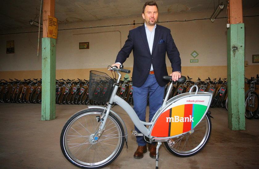 Połowa stacji rowerowych w mieście już gotowa