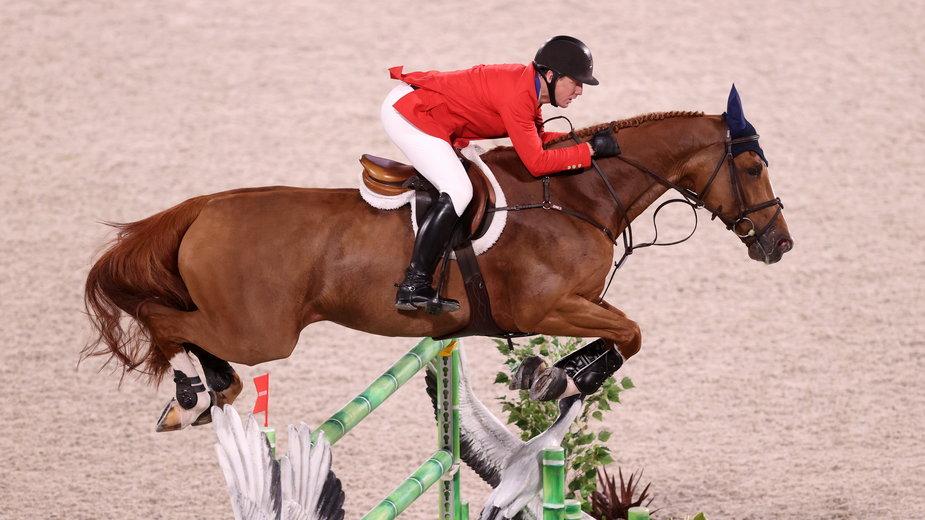 Jeździectwo podczas IO w Tokio