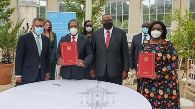 Uhuru lands Sh20 billion deals on first day of UK state visit