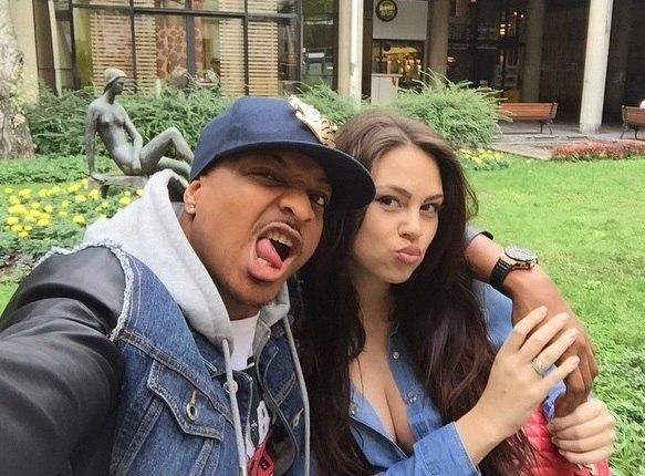 IK Ogbonna and wife, Sonia