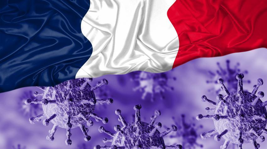 Franciaország Covid