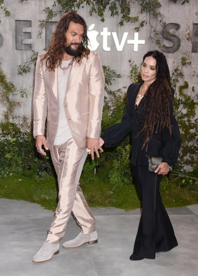 Džejson Momoa sa suprugom Lisom