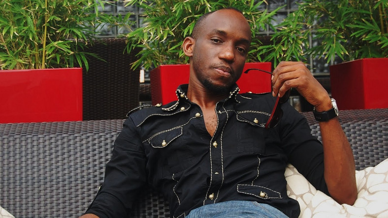 Obiwon thanked God for saving his life (Olamild Ent)