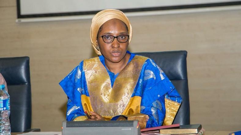The Minister of Finance, Budget and National Planning, Zainab Shamsuna Ahmed [Twitter/@ZShamsuna]
