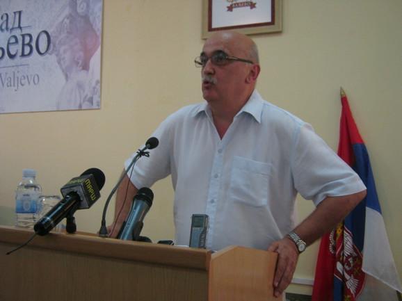 Smenjeni predsednik Skupštine Valjeva Mihailo Jokić (SNS)
