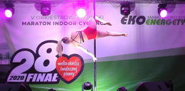 Taniec na rurze dla dzieci podczas finału WOŚP! Kłótnia w sieci
