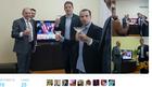 Izborna noć na društvenim mrežama: Balša u Americi pratio izbore, Marko Đurić slavio, Georgiev među prvima čestitao