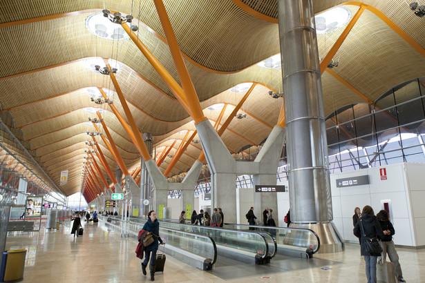 lotnisko Madrid Barajas, Madryt, Hiszpania