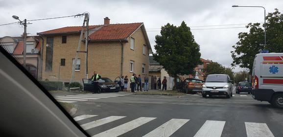 Na licu mesta su policija i Hitna pomoć
