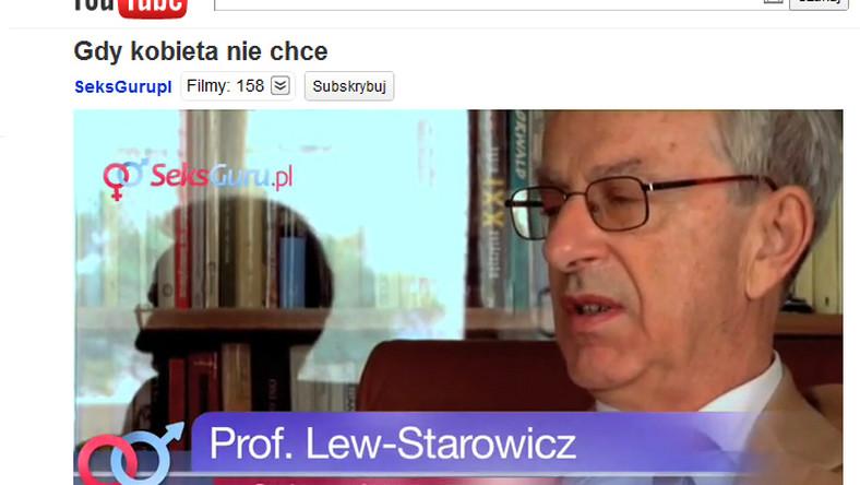 Prof. Lew-Starowicz - seksuolog
