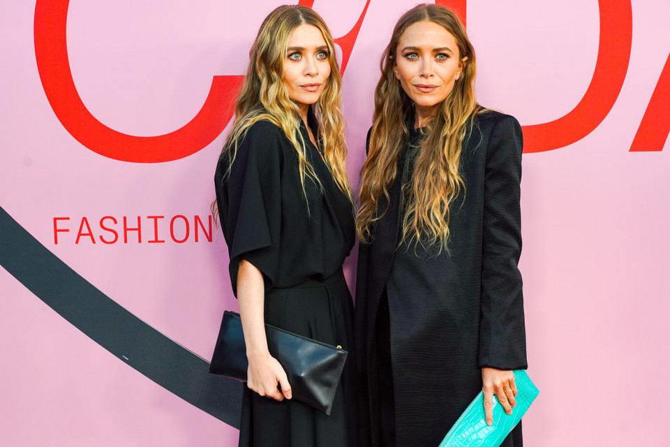 Mary-Kate i Ashley na CFDA Fashion Awards 4 czerwca 2019