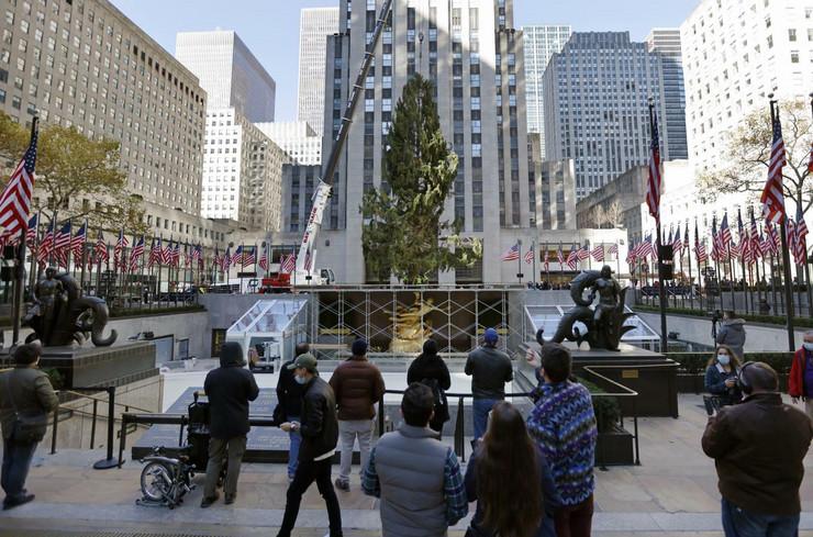 bozicno drvo njujork 20201114 epa peter foley new york Di020806779 preview