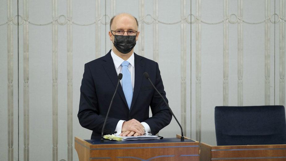 Senat przeciw kandydaturze. Piotr Wawrzyk nie zostanie RPO