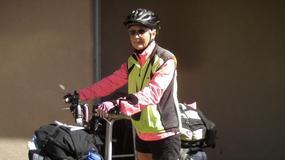 Ma 78 lat i wciąż podróżuje. Przejechała rowerem już prawie 25 tys. kilometrów