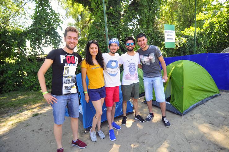 Novi Sad 140 Onur Pulasli exit kamp prvi kamperi foto Robert Getel