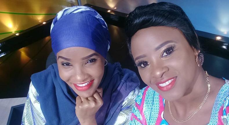 Lulu Hassan and State House Spokesperson Kanze Dena