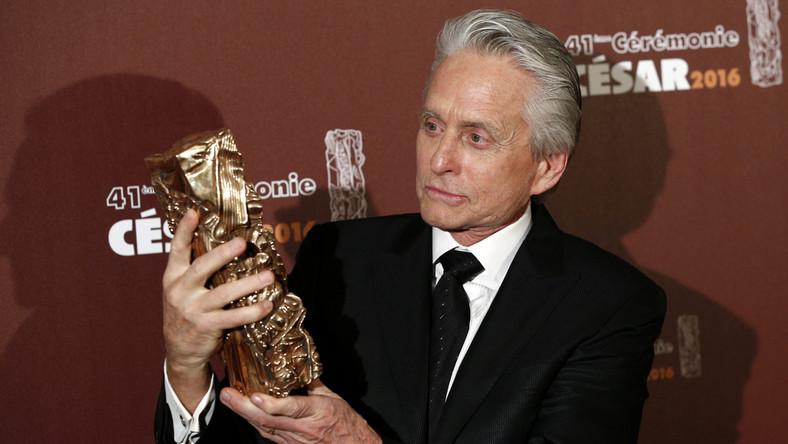 Michael Douglas odebrał honorowego Cezara za całokształt twórczości