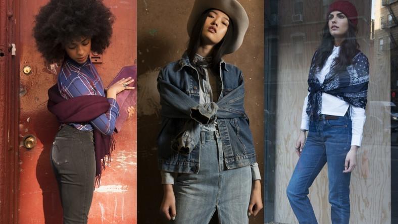 Kultowe modele Levi's® takie jak dżinsy 501®, kurtka Trucker oraz koszula Western pokazują w tej kolekcji swoje nowe oblicze.