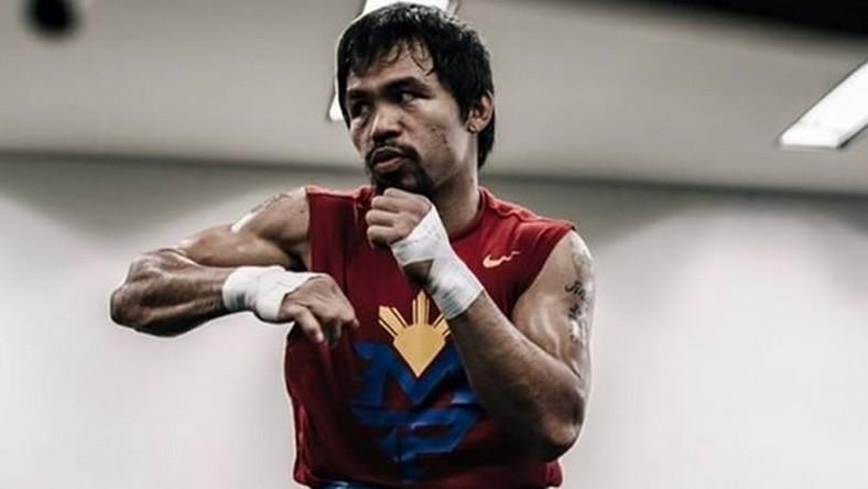 Pożegnalną walkę 37-letni Pacquaio stoczył 9 kwietnia w Las Vegas, pokonując Amerykanina Timothy'ego Bradleya Jr. Wygrana przyniosła mu 20 mln dolarów.