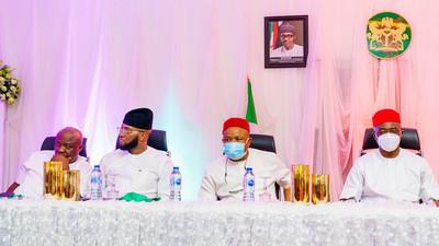 Gov Uzodinma hosts Muslims to Eid-el-Fitr banquet in Imo [Photos]