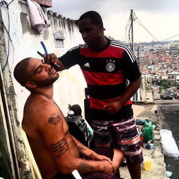Adriano /Fotó: Twitter