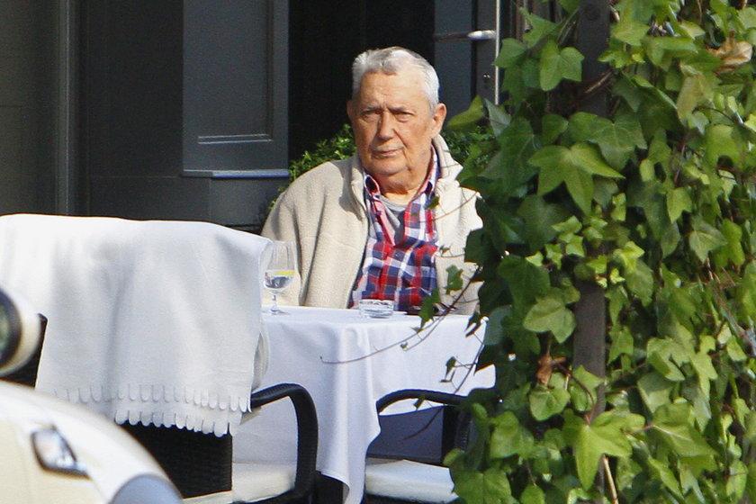 Wojciech Młynarski w restauracji