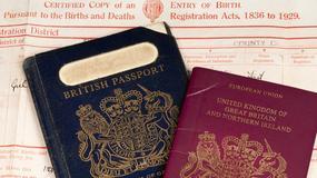 Brytyjski paszport zmieni kolor