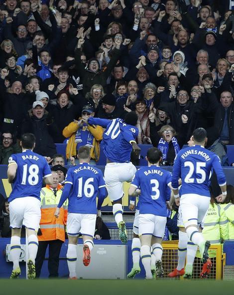 Slavlje fudbalera Evertona