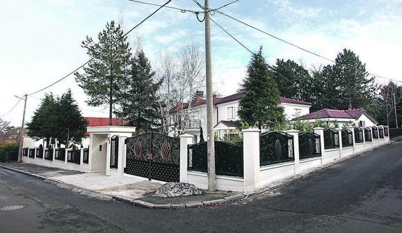 Kuću je uređivala supruga Goca Šaulić