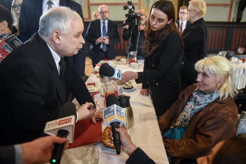 Jarosław Kaczyński o niepełnosprawnych