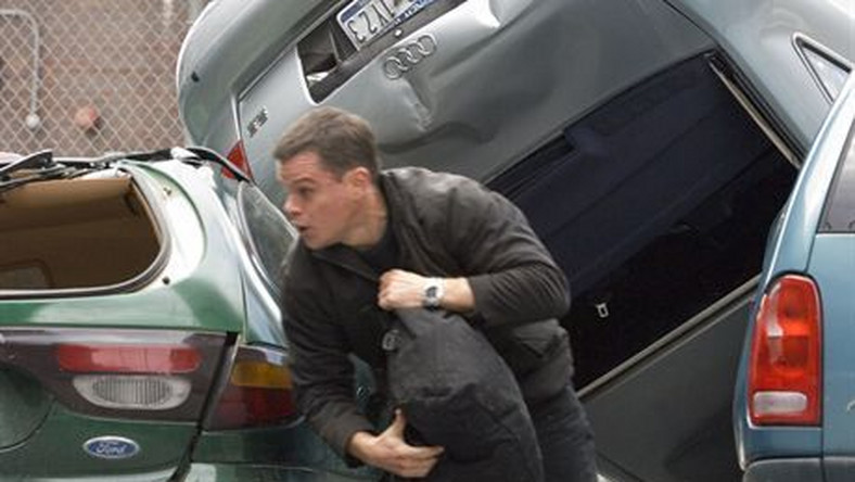 "MATT DAMON is Jason Bourne in the espionage thriller that takes Bourne back home: ""The Bourne Ultimatum"". Ultimatum Bourne'a Foto: UIP"