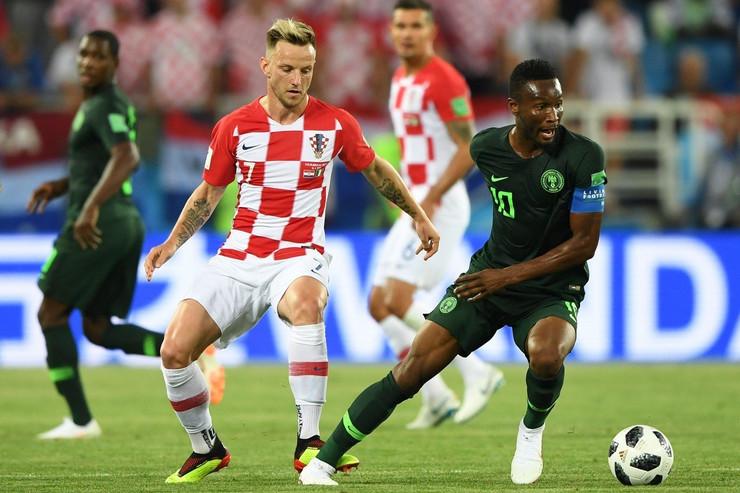 Ivan Rakitić na meču protiv Nigerije