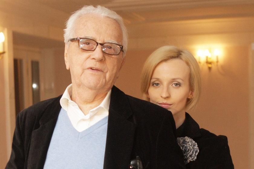Kamila Łapicka i Andrzej Łapicki