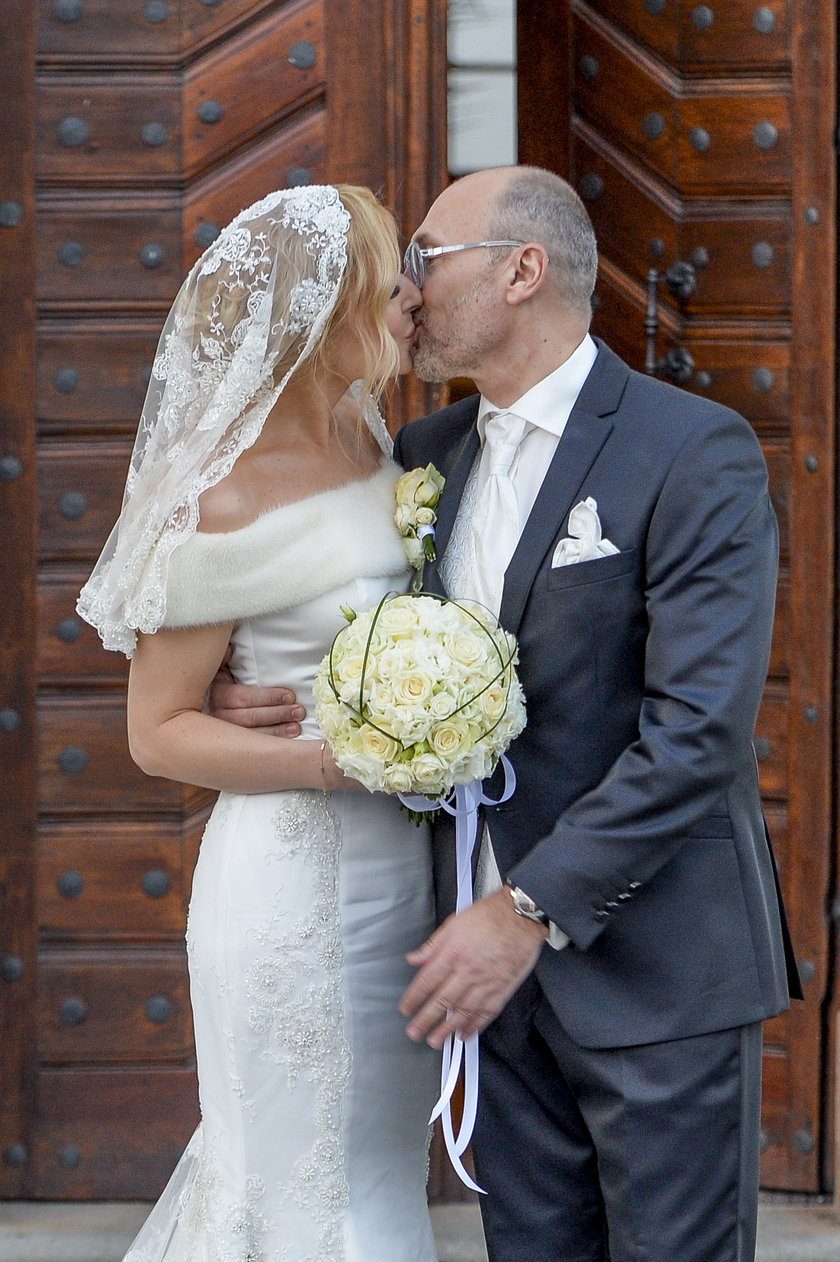 Ślub Haliny Mlynkovej i Leszka Wronki