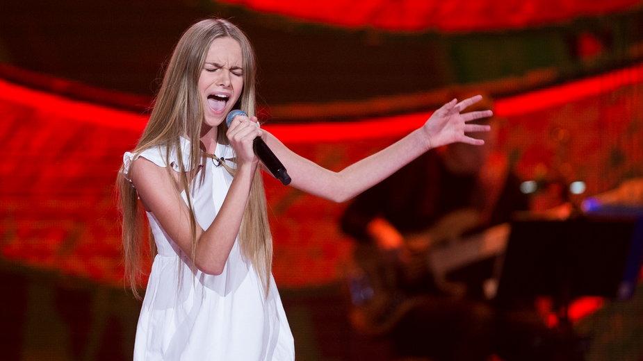 """Ola Kędra w programie """"The Voice Kids 3"""""""