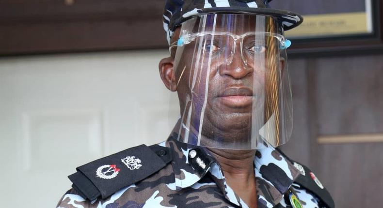 Lagos State Commissioner of Police, Hakeem Odumosu [LSPC]