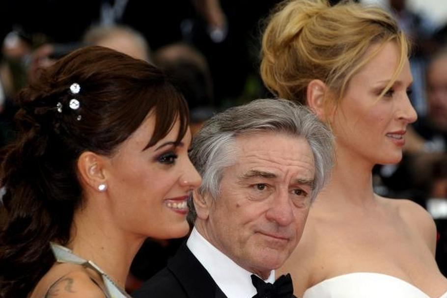 Martina Gusman, Robert De Niro i Uma Thurman
