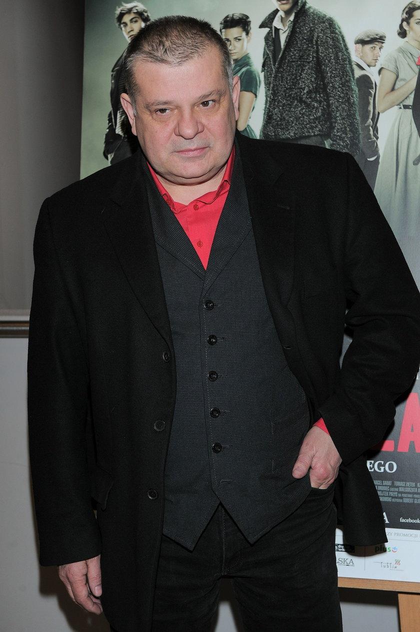 Krzysztof Globisz w marcu 2014 roku