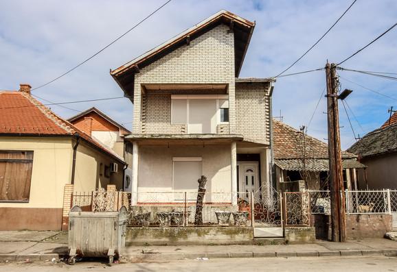 Šaban Šaulić, kuća u Šabačkoj Mali