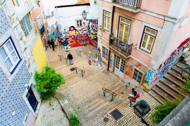 Alfama, Lizbona, Portugalia