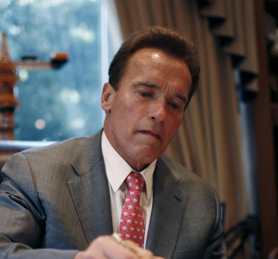 Gyilkos gépből kaliforniai kormányzó lett / Fotó: Getty Images