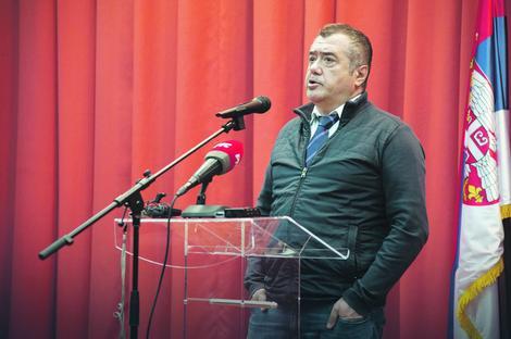 Vladimir Pištalo juče na proslavi Dana Narodne biblioteke Srbije