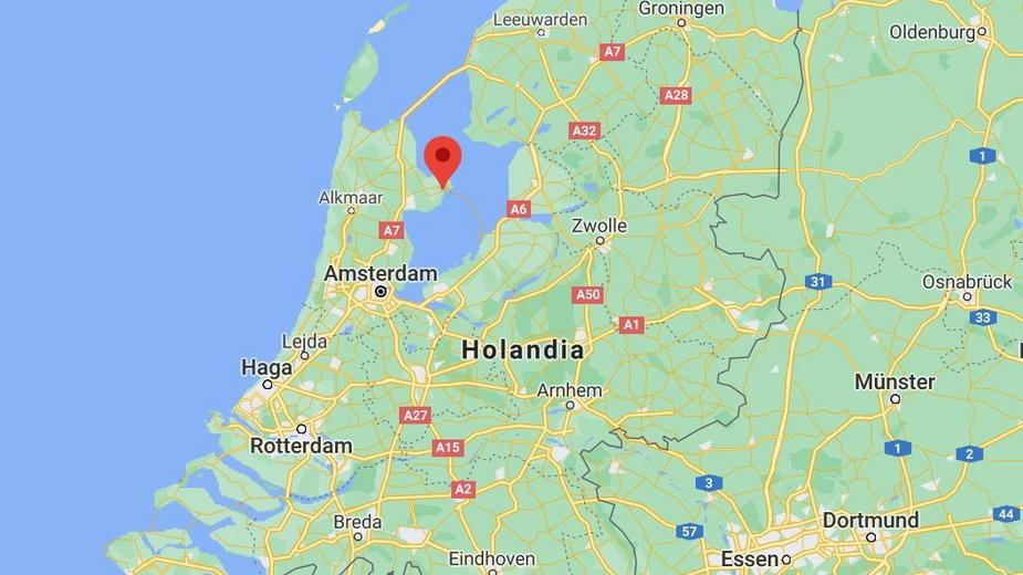Bovenkarspel na północy Holandii, gdzie doszło do eksplozji