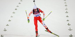 Polska biatlonistka blisko medalu